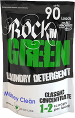 Rockin Green Laundry Detergent, M�tley Cle�n