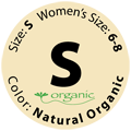 Natural Organic Baby Wrap - Size S