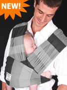 Nifty Shades of Grey Baby K'tan Baby Carrier