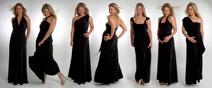 The Maxi Versatile Dress - Black Caviar