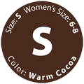 Gently Used Warm Cocoa, Size S