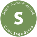 Gently Used Sage Green, Size S