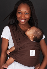 Warm Cocoa Baby Wrap - Size XL