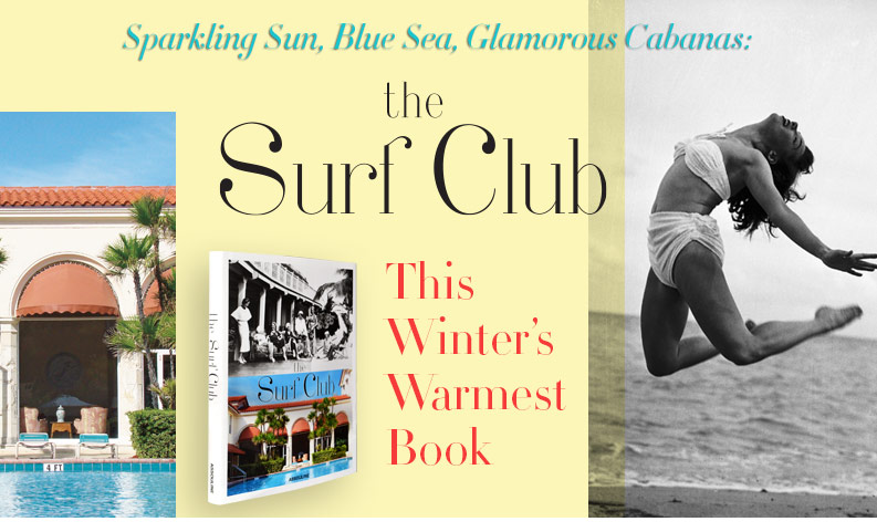 The Surf Club | Tis Winter's Warmest Book
