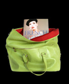 Didot Soft Book Tote Green