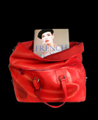 Didot Soft Book Tote Red