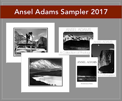 ANSEL ADAMS SAMPLER PACK 2017