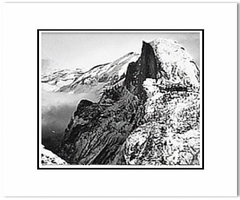 Half Dome, Winter, from Glacier Point, Yosemite National Park, CA, c. 1940