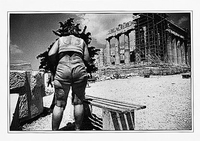HANGING OUT AT THE PARTHENON, ATHENS, 1981