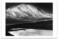 MOUNT MCKINLEY AND WONDER LAKE, DENALI NATIONAL PARK, AK, c 1948