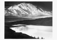 MT MCKINLEY AND WONDER LAKE, MT MCKINLEY NATIONAL PARK, AK, 1948