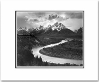 THE TETONS & THE SNAKE RIVER (10 x 8)