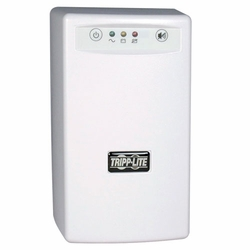 Click to enlarge: Tripp Lite BCPERSONAL450 450VA UPS, replace-battery LED, self-test, 3 outlets, USB port, small footprint