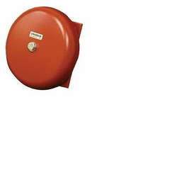 "Click to enlarge: Wheelock MB-G10-24-R Motor Bell,  Indoor / Outdoor,  24VDC,  10"" Shell,  Rd"