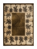 Brown  Bahamas Palm Tree Rug 2321