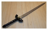 Dark Link's Sword with Hard Scabbard-A
