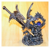 Dragon Stand w/Letter Opener-KN 8523