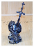 Dragon w/Treasures Letter Opener-KN055-PS