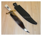 "Gil Hibben ""Expendables"" Bowie with Sheath-GH 5017-(BK)"