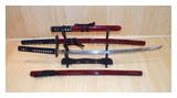 Last Samurai Full Tang Sword Set SS012RD4-1