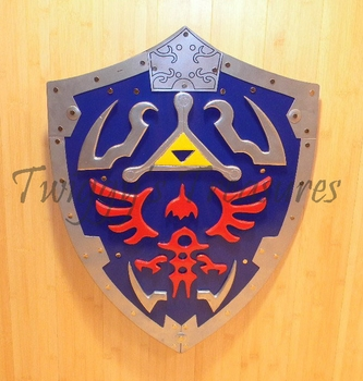 "Legend of Zelda <br>Hylian Shield 26"" <br><font color=""ff0000"">Battle Ready</font>"