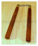 Nunchucks Carved Dragon HPC133DR MC
