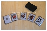Royal Flush Throwing Cards Spades <br>JL-SS5B