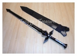 Sword Art Online Anime-Kirito Kirigaya Kazuto Sword Dark Repulser Weapon Cosplay-H-​1837-WJ