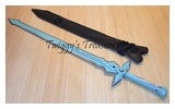 Sword Art Online Kirito Kirigaya Kazuto white sword DARK REPULSOR weapon Cosplay-KL837-L-WJ