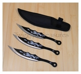 Throwing Knife Set 3pc FM525