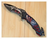 Z-Hunter Red Folding Knife-ZB-160RD-MC