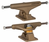 "Independent Metal Series Aged Gold 129mm 7.75"" Skateboard Trucks"