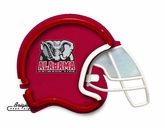 Alabama Crimson Tide Football Neon Helmet