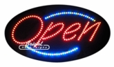 Animated Deco LED Open Sign
