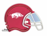 Arkansas Razorbacks Football Neon Helmet