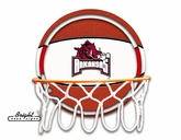 Arkansas Razorbacks Neon Basketball Sign