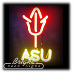 ASU Neon Sculpture