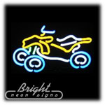 ATV Neon Sculpture