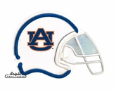 Auburn Tigers Football Neon Helmet