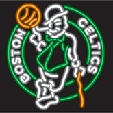 Boston Celtics Neon Sign