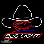 Bud Light George Strait Neon Sign
