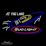Bud Light Lake Neon Sign