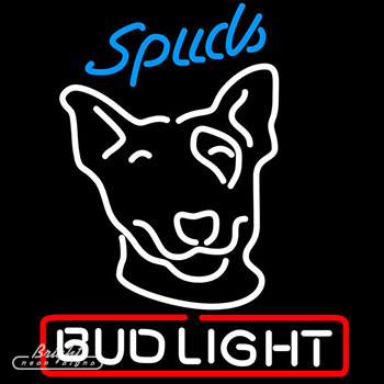Bud Light Spuds Neon Sign