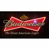 Budweiser Bowtie LED & Neon Sign