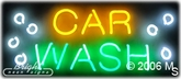 Car Wash Neon Sign