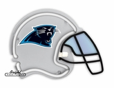 Carolina Panthers Neon Helmet