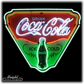 Coca-Cola Ice Cold Shield Neon Sign