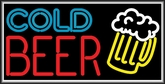 Cold Beer Lightbox Sign
