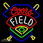 Coors Field Neon Sign