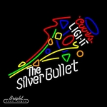 Coors Light Silver Bullet Neon Sign